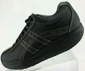 Skechers-Shape-Ups-XT-Walking-Shoes-Black-Overhaul-Fitness-Toning-Mens-US-10-5