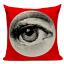thumbnail 13 - Fornasetti Style Pillow Case Cover Sofa Home Textile Vintage Cushion Linen Decor