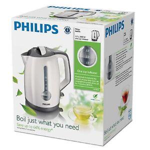Philips HD4644-00 3000 W 1.7 L Energy Efficient Bouilloire-blanc