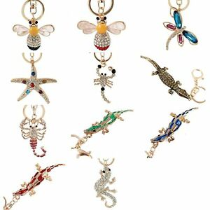 Charm-Rhinestone-Crystal-Keyring-Pendant-Purse-Bag-Key-Ring-Chain-Keychain-Gifts