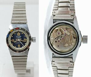 Orologio-sicura-diver-watch-a-carica-manuale-femminile-clock-mechanical-horloge