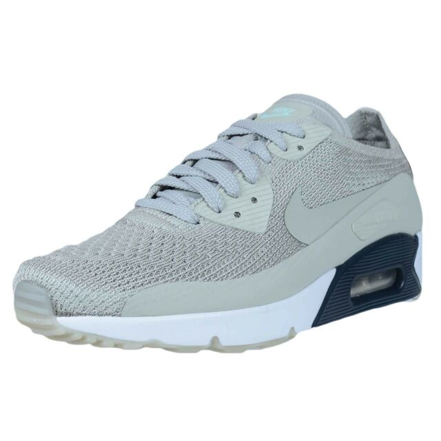 94314d2ad459d Nike Air Max 90 Ultra 2.0 Flyknit Men s Size 11 Pale Grey 875943-006 ...