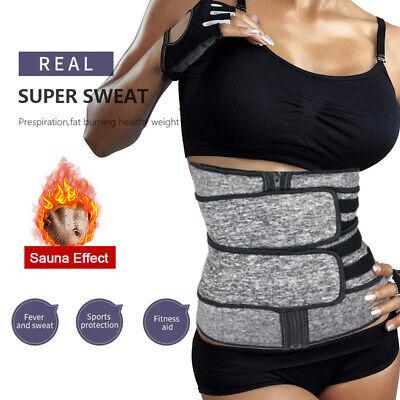 Women Waist Trainer Neoprene Belt Hot Sauna Sweat Slim Body Shaper Tummy Control