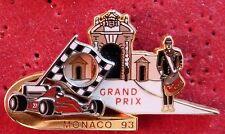 PIN'S F1 FORMULA ONE GRAND PRIX MONACO 93 FERARRI ZAMAC 2D N°TE 350 EX