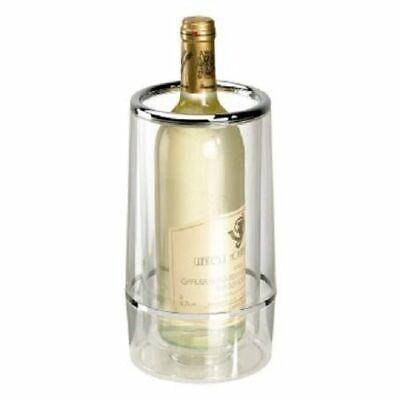 3x Flaschenkühler Weinkühler Kunststoff Sektkühler doppelwandig Getränkekühler