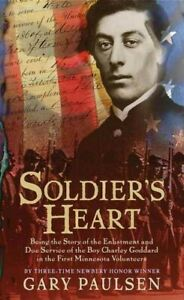 Soldier-039-s-Heart-Paperback-by-Paulsen-Gary-Brand-New-Free-shipping-in-the-US