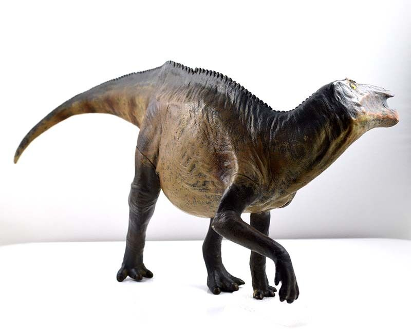 15'' Rare Shantungosaurus Dinosaur Model scientific art Hadpinkurus Figure PNSO