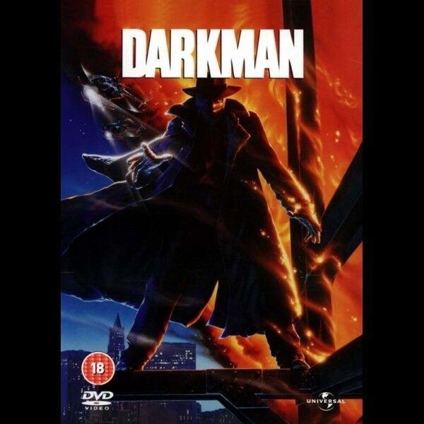 Darkman, instruktør Dr.Peyton, DVD