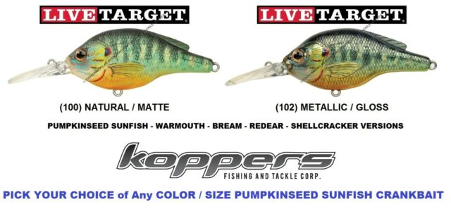 Live Target Jerkbait YP98S100 Yellow Perch Natural Matte 3.5 Inch Fishing Lure