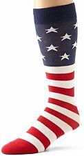 K Bell Mens American Flag Socks, Extended Size, XL 13-15, Big and Tall