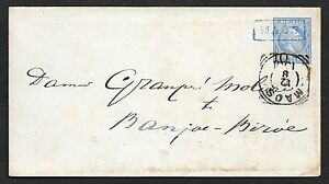 Netherlands Indies covers 1901 ovpt cover MAOS to Banjoe-Biroe