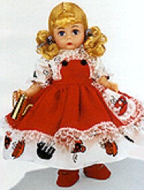 Nunca quitado de la Caja 8  Madame Alexander Polly poner la caldera en Con Caja Y Etiqueta