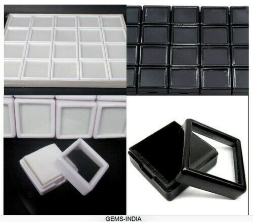 EMPTY Display Plastic Box Storage Container For Diamond//Gemstones various sizes