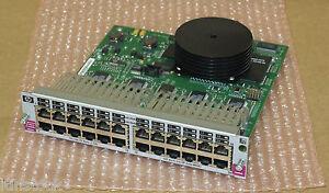 Bien Hewlett Packard Hp J4820a Procurve Xl 10/100-tx 24-port Switch Module-afficher Le Titre D'origine Bonne RéPutation Sur Le Monde