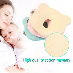 Baby-Soft-Pillow-Infant-Prevent-Flat-Head-Sleeping-Memory-Cushion-Support-J0