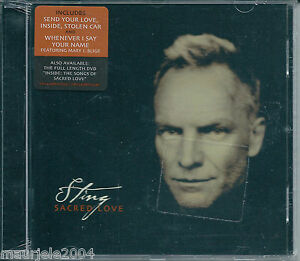 Sting-Sacred-Love-2003-CD-NUOVO-Whenever-I-Say-Your-Name-The-Book-Of-My-Life