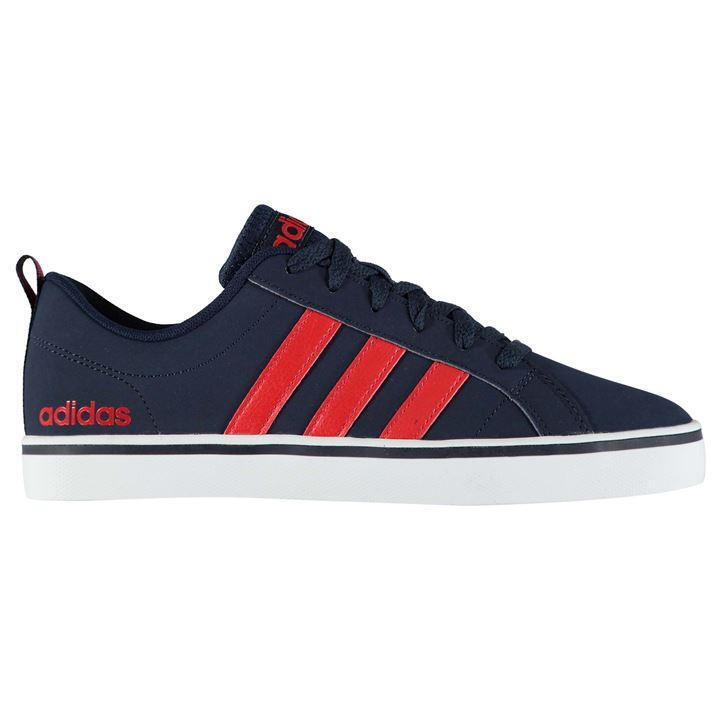 Adidas Mens Pace Nubuck Trainers, Adidas Mens Court Shoes 6-12 - Navy - Size 6-12 Shoes 291730