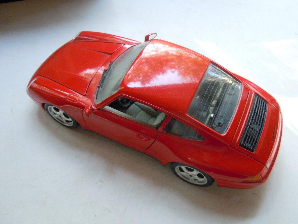 3 x seltene Porsche 911 (993) Carrera Carrera Carrera Coupé Modelle von Bburago in 1 18 127b08