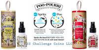 Poo-pourri Gift Set Your Choice - Original Citrus Or Holiday Tube Natural Spray