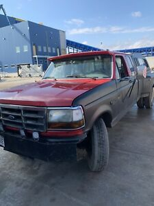 1996 Ford F-350 7.3 turbo diesel. Nice shape!!