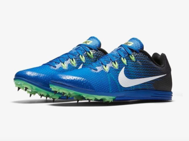 save off f2e54 80a4e Nike Zoom Rival D 9 Distance Mens Track Spike 806556-413 Cobalt Blue Size 10