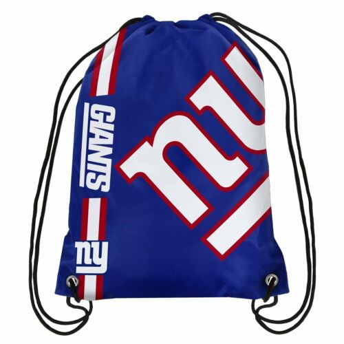 FOREVER Collectibles ufficiale NFL New York Giants Coulisse Palestra Borsa Zaino
