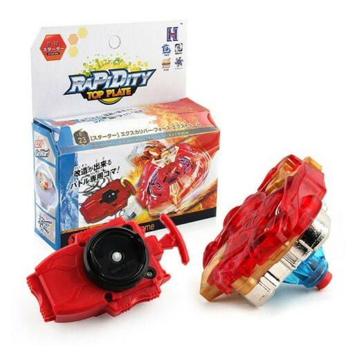 Xcalibur Force Xtreme Attack Beyblade Burst Starter Set with Launcher Blade B-23
