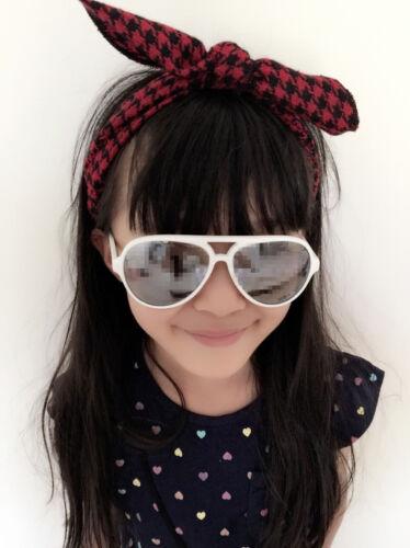Girls Baby Kids Chic Fashion Bunny Ear Bow Headband Hair band Bandana prop