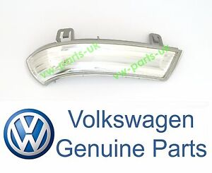 GENUINE-VW-Wing-Mirror-Indicator-Turn-Signal-Lens-Drivers-Side-Right-LED-Bulb-OS