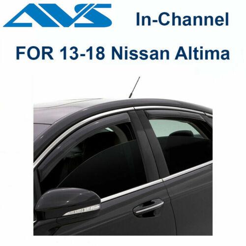 AVS Rain Guards 194861 In-Channel Window Vent Visor 4Pc For 13-17 Nissan Altima