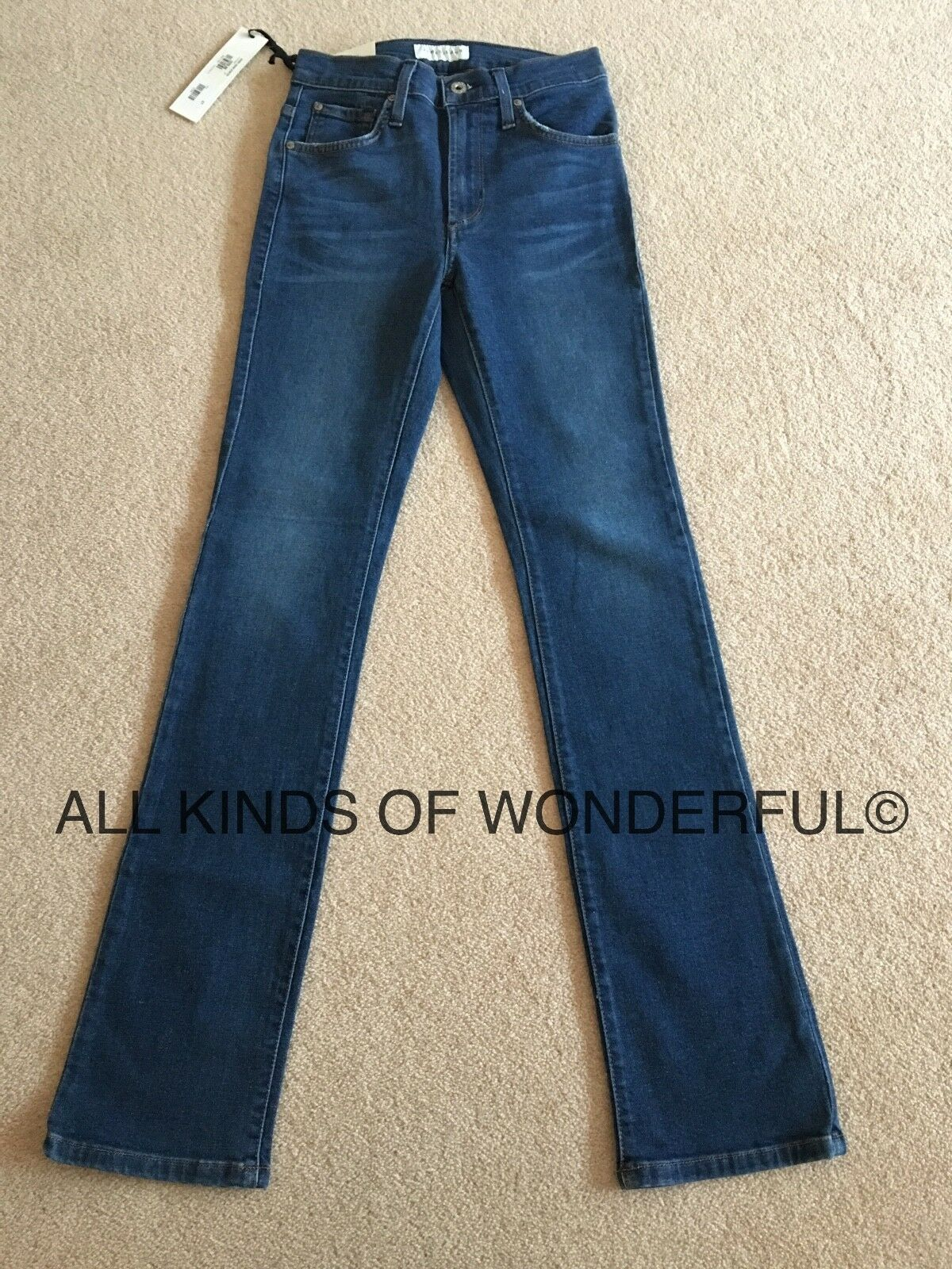 James Jeans Hunter Flat  Straight Leg in Victory ( MID Blau)  BNTW