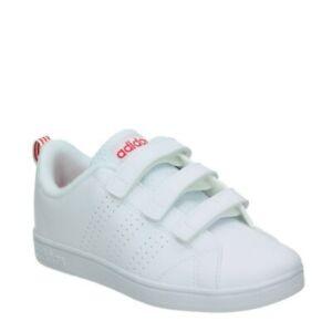 pálido probable Peave  👟 Tenis ADIDAS Niñas BLANCAS Y ROSAS Advantage 💖 Zapatillas Deportivas  Sneaker | eBay