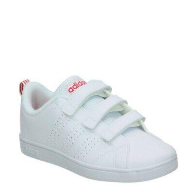 mejor servicio 0e400 8b983 👟 Tenis ADIDAS Niñas BLANCAS Y ROSAS Advantage 💖 Zapatillas Deportivas  Sneaker   eBay