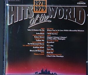 Hits-of-the-World-1978-79-Abba-Clout-Dr-Hook-Gerry-Rafferty-Luv-CD