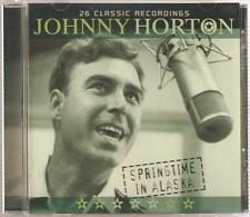 JOHNNY HORTON SPRINGTIME IN ALASKA CD - 26 CLASSIC RECORDINGS