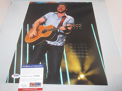 Chris Young Signed 11x14 Photo Psa/dna U68991 Neon You Tomorrow Country Star Country