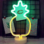 Pineapple Neon Light Signs XIYUNTE LED Neon Signs Pineapple Lamps Room Decor,