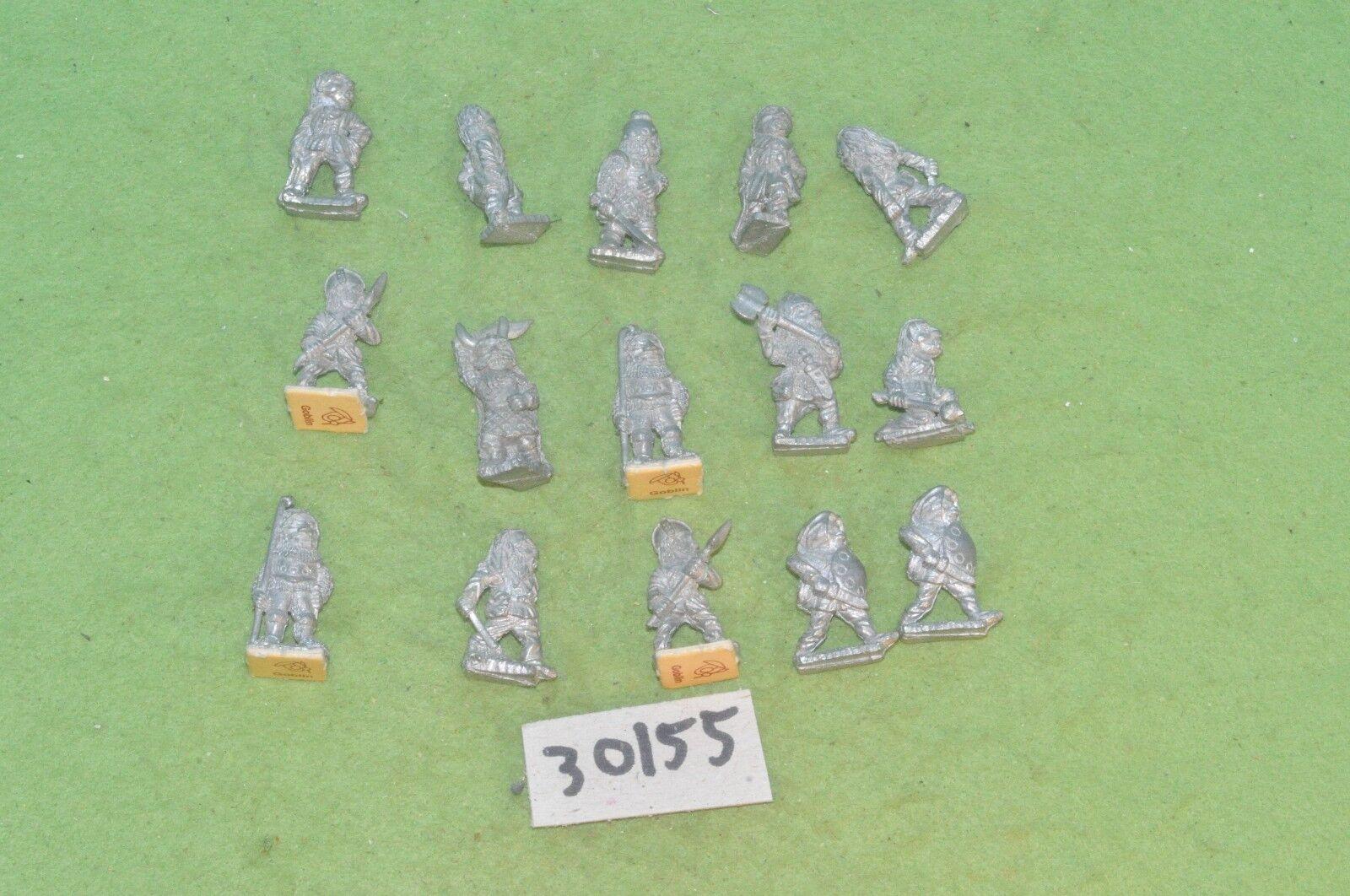 Dwarf Warriors 15 Métal Sigmar commande Fantasy (30155) WARHAMMER