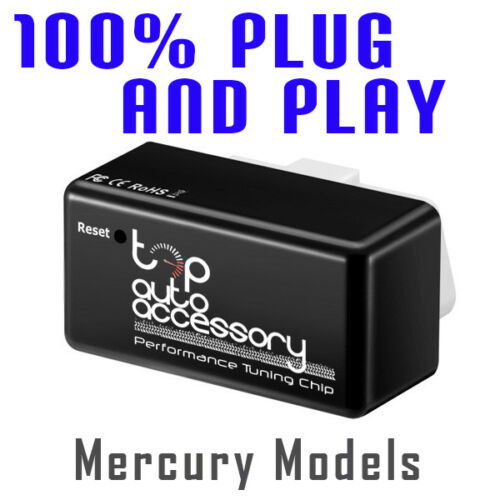 Performance Tuning Tuner Speed OBDII OBD2 OBD II 2 Chip Module ECU for Mercury