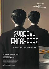 Surreal Encounters Exhibition Poster Surrealism René Magritte *3 for 2 offer