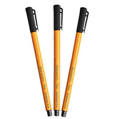 UK! Loft 0.4mm Fine Liner Marker Pens 24 Colours Porous Point Water Based