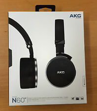 AKG N60NC Active Noise Cancelling Remote/Mic, Portable, Foldable/Case, Open Box