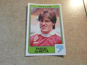 original-FOOTBALL-STICKERS-PANINI-FOOT-86-1986-Pascal-OLMETA-Nr-304