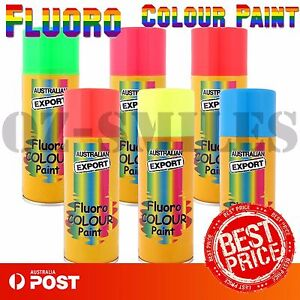 Australian Export Spray Paint Cans Fluoro Colour Paint Can +