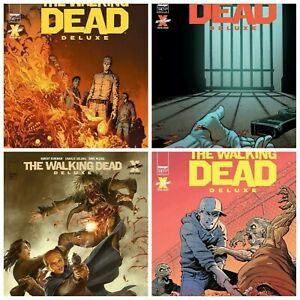 Walking Dead Deluxe #14 Cover A B C D Variant Set Options NM