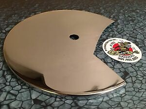 new-Chrome-Harley-Davidson-Front-Brake-Disc-Rotor-Cover-1972-FL-FLH-Motorcycle