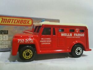 M139 Loose Matchbox Poop King Truck with 2 Port a Pots