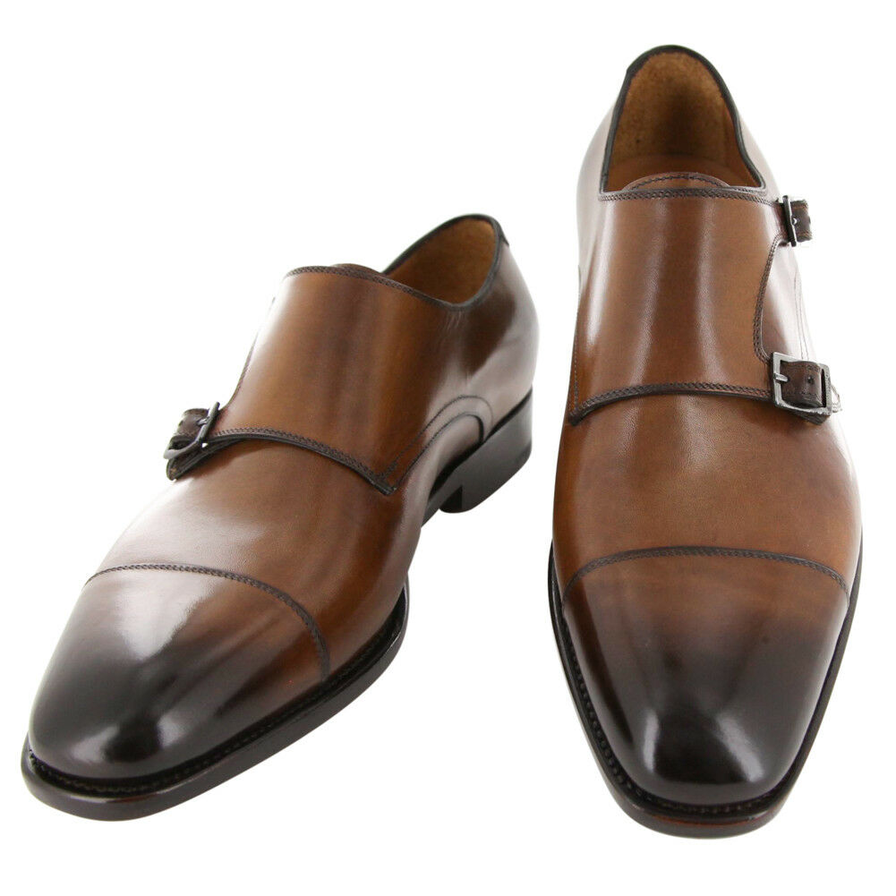 New  Fiori Di Lusso Caramel shoes - Monk Straps - (LONDONCN)