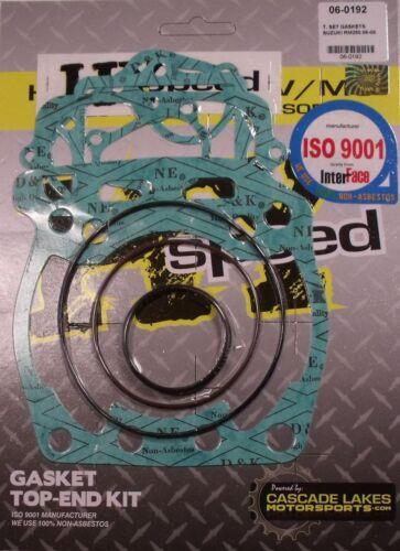 HYspeed Top End Head Gasket Kit Set Suzuki RM250 2006-2008