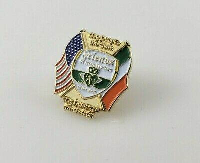 "California Poppy Metal Enamel Lapel Pin 1.25/"" x 1/"""